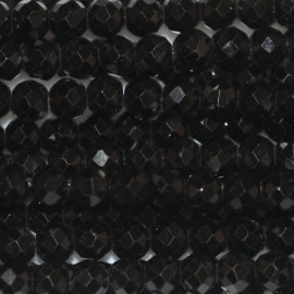 BeauMonde Jewelry - Spinel 3 mm faceted round bead