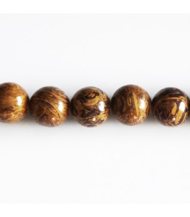 Jasper elephant 10 mm round bead Mexico