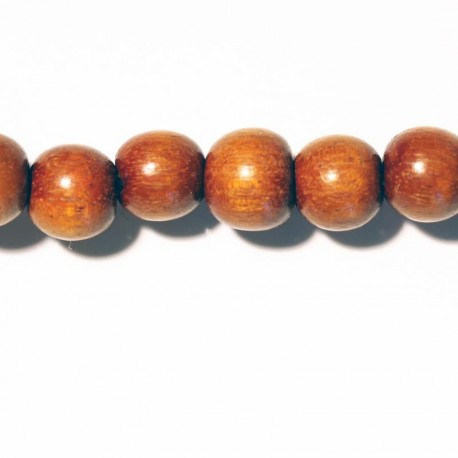 BeauMonde Jewelry - Round bead wood bayong 8 mm
