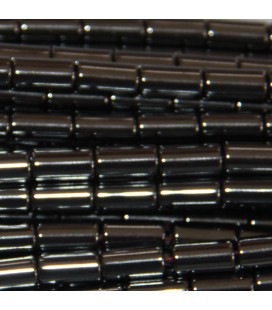 BeauMonde Bijoux - Hématite 4x8 mm tube