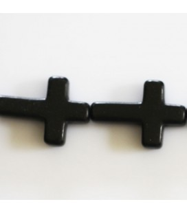 Howlite 18 x 25 mm cross