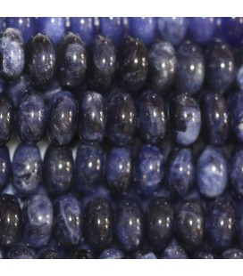 BeauMonde Jewelry - Sodalite 8x5 mm rounded washer