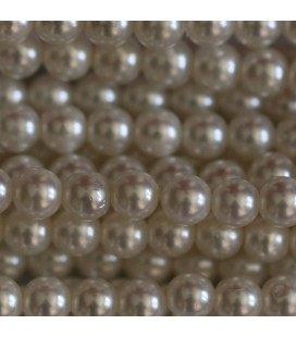 Mother-of-pearl pearl 4 mm round bead