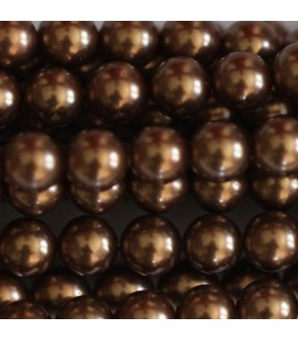 BeauMonde Jewelry - Mother-of-pearl  pearl 6 mm round bead