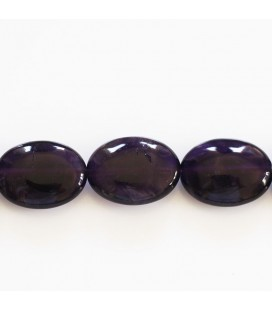 BeauMonde Jewelry - Amethyst 12x16 mm flat oval