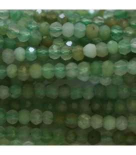 BeauMonde Jewelry - Chrysoprase 2x3 mm faceted washer