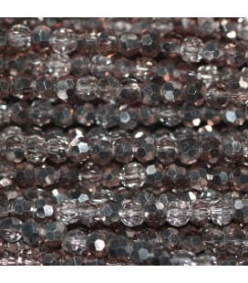 Pearl 2 mm round faceted
