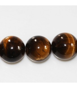 BeauMonde Jewelry - Tiger eye 14 mm round bead