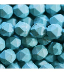 BeauMonde Jewelry - Howlite 8 mm round large facet