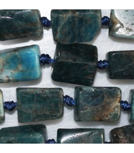 Apatite 9x7 mm about irregular rectangle Africa