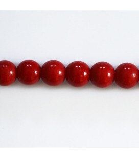 BeauMonde Jewelry - Glass bead 8 mm round