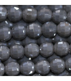 Pearl 6 mm round faceted