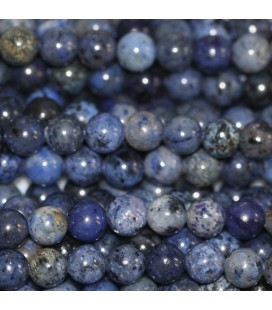 BeauMonde Bijoux - Jaspe 6 mm blue stone perle ronde