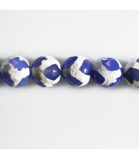 BeauMonde Jewelry - Agate 10 mm round faceted bead
