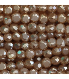 BeauMonde Jewelry - Bead 4 mm flat faceted