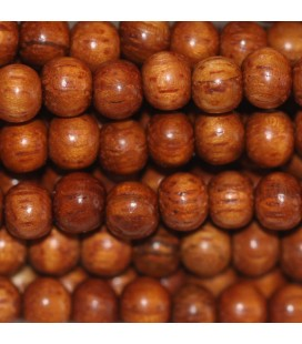 BeauMonde Jewelry - Wooden bead 5 mm about round bayong