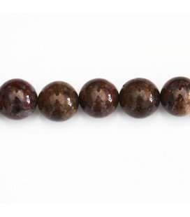 Pietersite 10 mm round bead blue tones