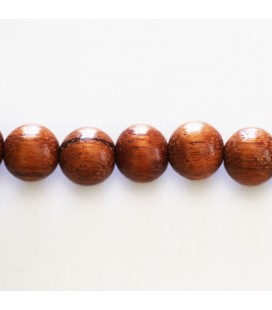 Bayong wooden bead round 10 mm