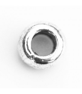 BeauMonde Jewelry - Washer 8x5 mm smooth silver metal
