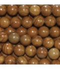 Jasper wood 6 mm round bead