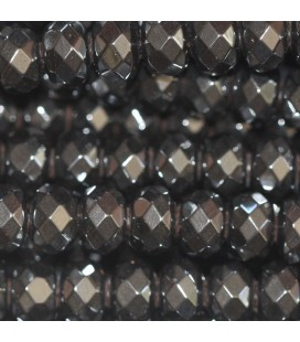 BeauMonde Jewelry - Hematite 4X6 mm faceted washer