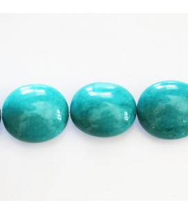 BeauMonde Jewelry - Howlite about 21x18 mm smooth nugget (new turquoise)