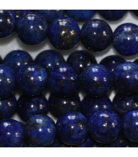 Lapis lazuli 5.8/6.2 mm pearl round quality B Afghanistan