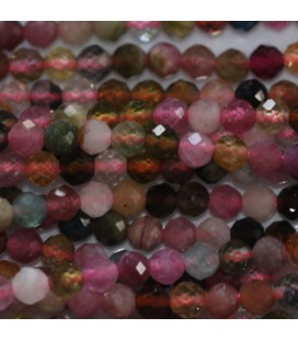 BeauMonde Jewelry - Tourmaline mixed about 2.5 mm round faceted