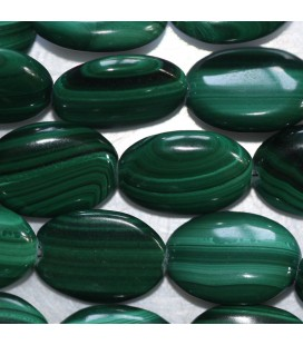 BeauMonde Jewelry - Malachite 10x14 mm flat oval Africa