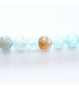 BeauMonde Jewelry - Agate aqua 8 mm round faceted bead