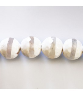 Agate 12 mm perle ronde