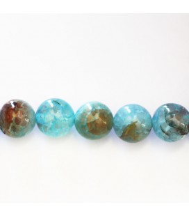 BeauMonde Jewelry - Agate 10 mm round bead