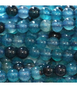 BeauMonde Jewelry - Agate 6 mm round bead
