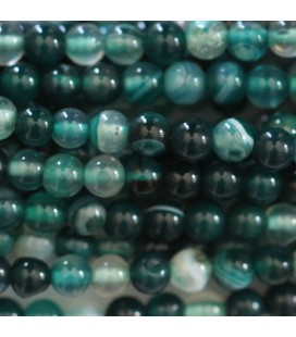 BeauMonde Jewelry - Agate 4 mm round bead