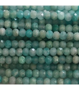 BeauMonde Jewelry - Amazonite 3x4 mm faceted washer Africa