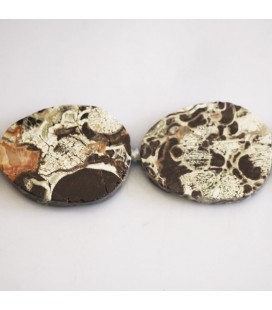 BeauMonde Jewelry - Agate about 40X32 mm crude plate