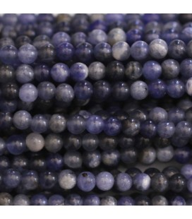 BeauMonde Jewelry - Sodalite 3 mm round bead
