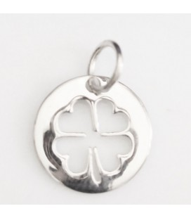 BeauMonde Jewelry - Medal 13 mm clover pattern