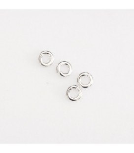 Ring 3 mm round open wire of 0.8 mm