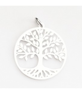 BeauMonde Jewelry - Pendant 20 mm life tree with ring