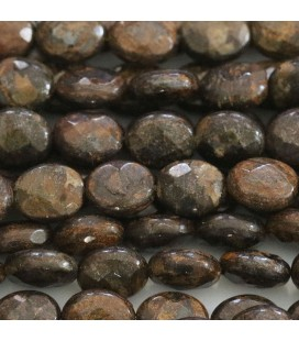 BeauMonde Jewelry - Bronzite 10x8 mm faceted oval