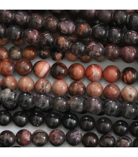 Sugilite 5/6 mm mixed round bead