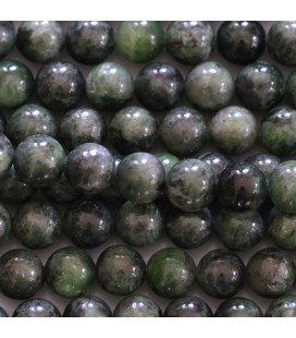 BeauMonde Jewelry - Diopside chrome 8 mm round bead Finland