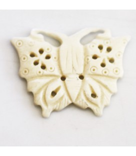 BeauMonde Jewelry - Butterfly bone about 34x33 mm
