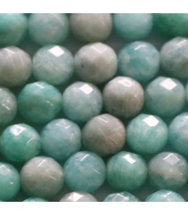 BeauMonde Jewelry - Amazonite 8 mm round faceted bead Africa