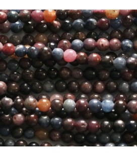 BeauMonde Jewelry - Sapphire 4 mm mixed round bead India
