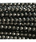 Hematite beads 4 mm round faceted