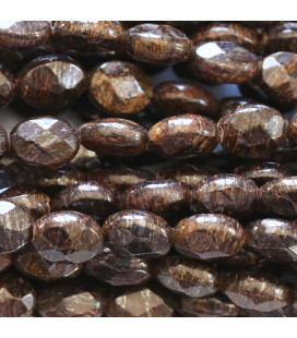 BeauMonde Jewelry - Bronzite 6x8 mm faceted oval