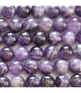 Amehtyste 8 mm white mixed round pearl