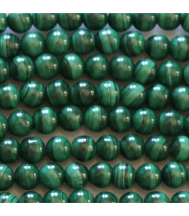 BeauMonde Jewelry - Malachite 4 mm round bead Africa